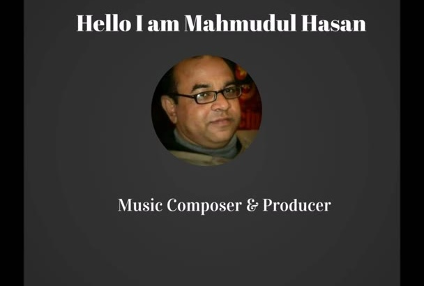 make melodious music track,just tell me what you want