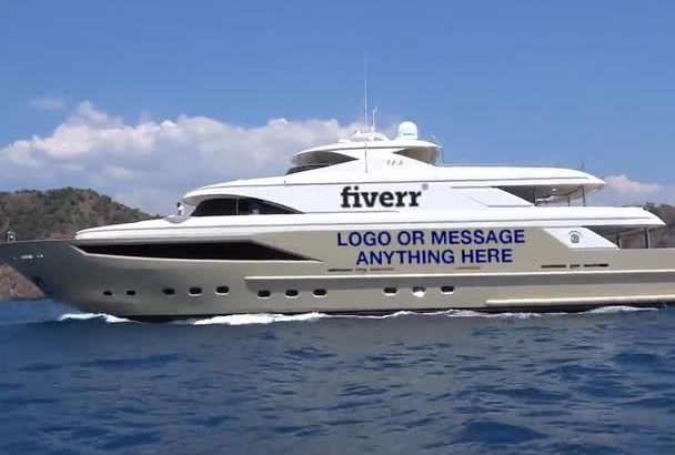 add anything to a Yacht Video