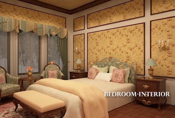 create AWESOME 3d Interior Exterior Design  Models