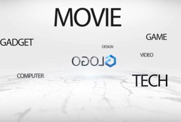 make amazing Logo Intro Animation