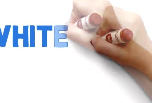 create a professional custom Whiteboard Animation