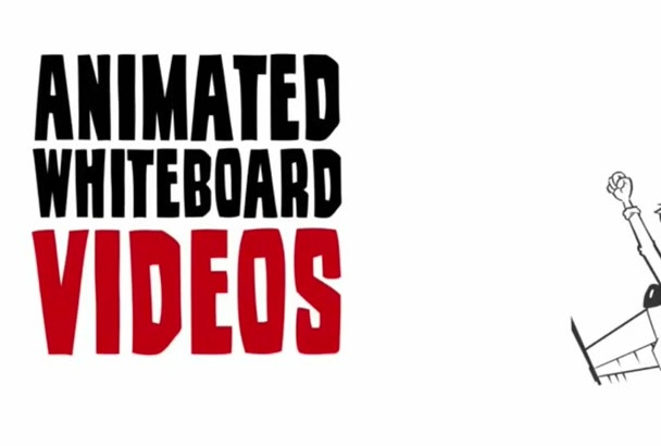create custom Whiteboard Animation video for you