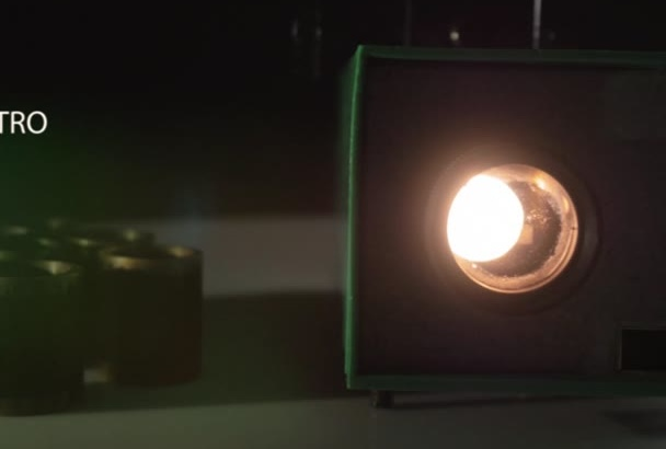do this COOL Filmstrip Projector Intro