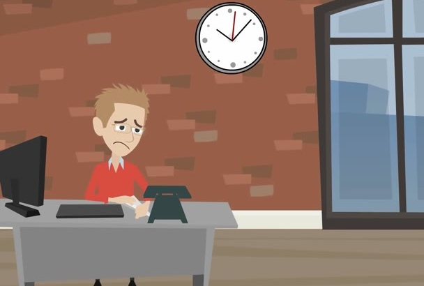 create outstanding explainer video character animation 2d