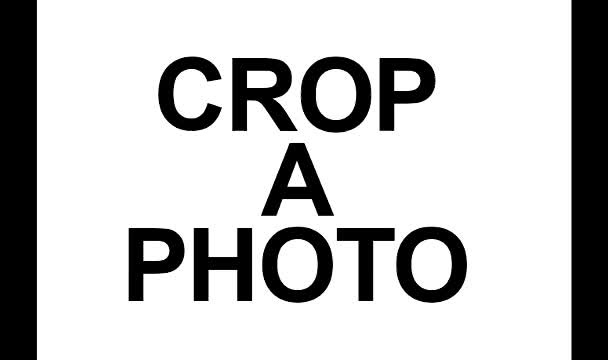 crop a photo for you