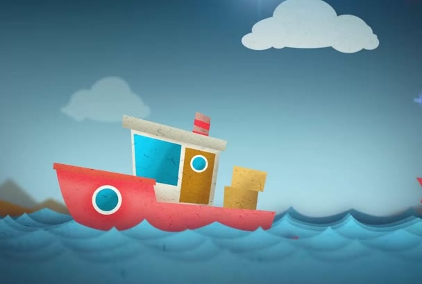 create this awesome CARTOON logo intro today