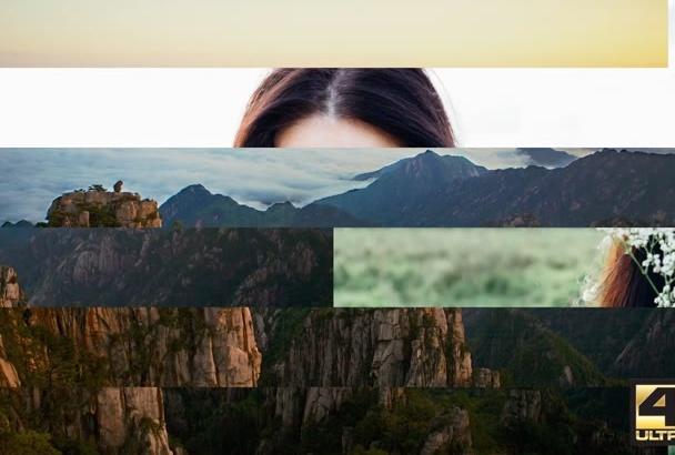 create this 4K Amazing Slideshow