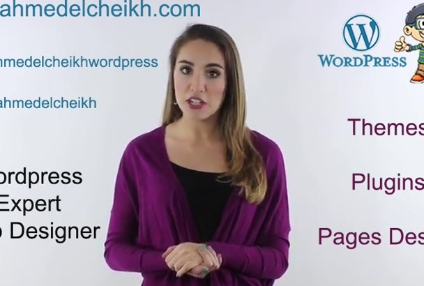 design a beautiful wordpress website