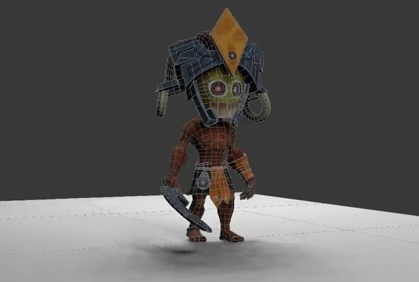 create 3d loop animation for games