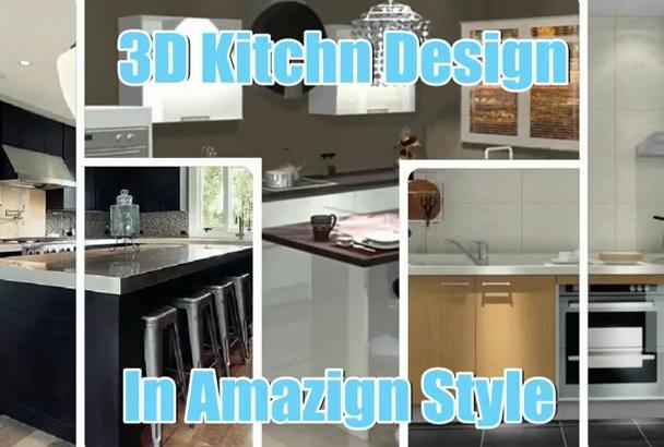 design 3D Kitchen Design