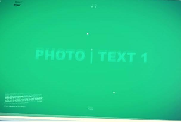 customize this or do custom photo slideshow video