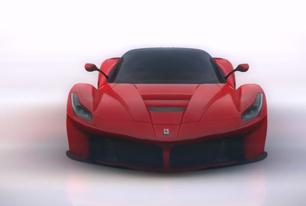 make a Ferrari Smoke logo reveal