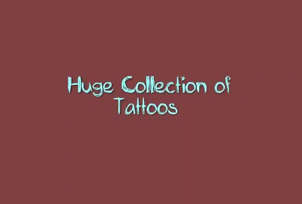 give you a collection of 4000 TATTOOS