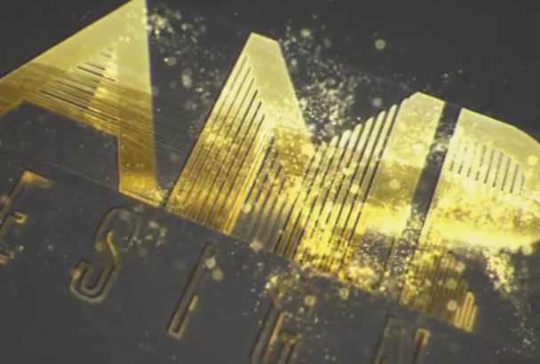 make a stunning GOLD logo intro in just 12 Hrs