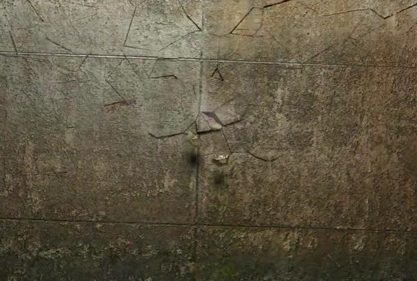 render a wall crush logo animation