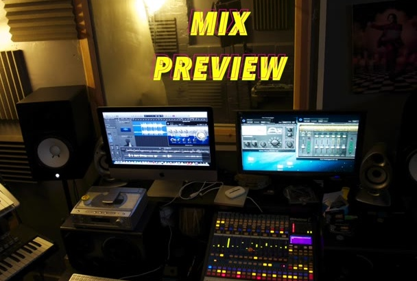 professionally mix your song in 24hrs