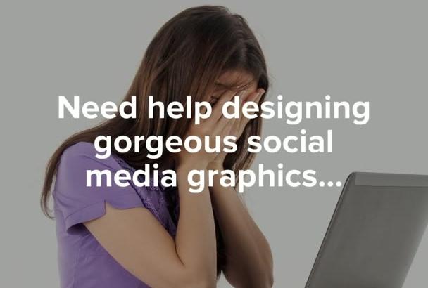 design five clever Facebook posts