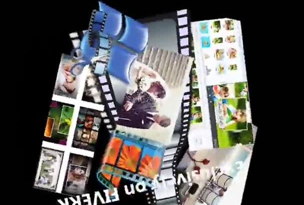 create a video montage using your pictures