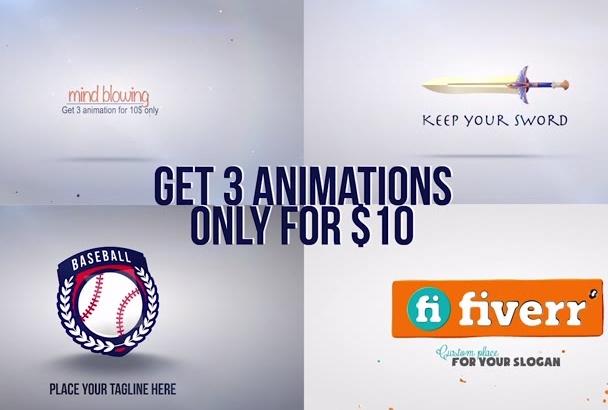create great intro logo