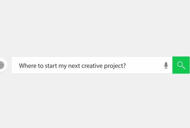 create Elegant Web Search Logo Reveal Video