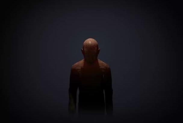 create SCARY Zombie logo animation intro
