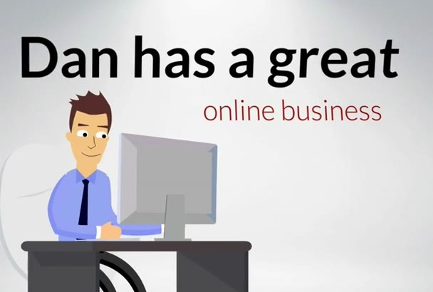 animate a corporate commercial