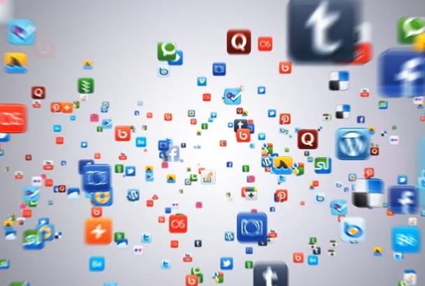 design this Social Media animated logo video intro