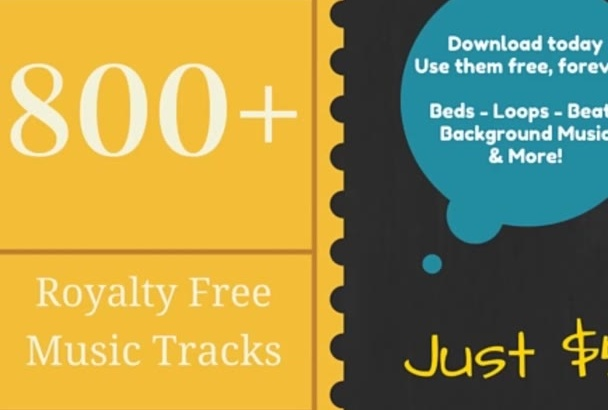 give you over 800 royalty FREE music tracks, Now available, Christmas tracks