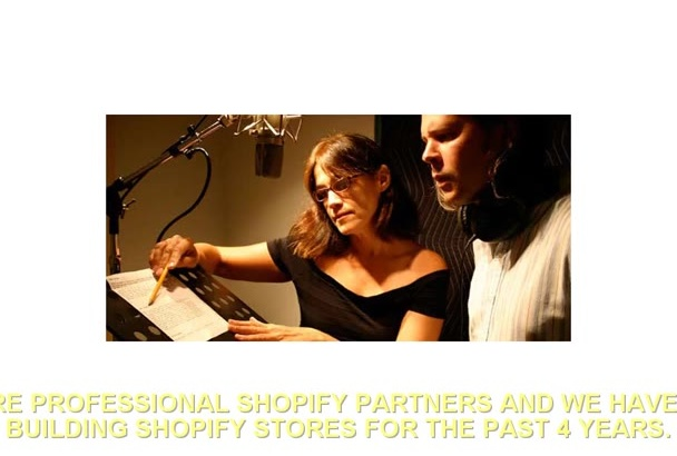 setup or edit your Bigcommerce or Shopify website