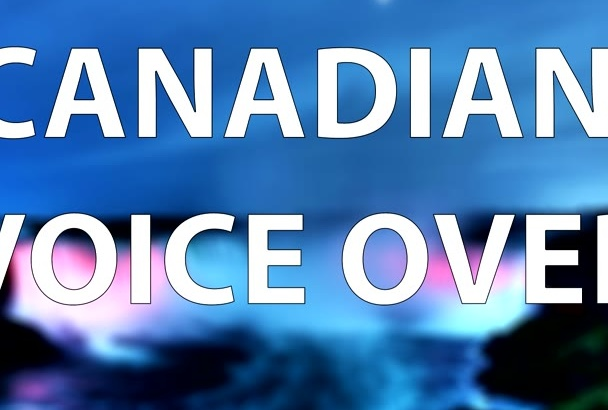 record a 200 word voiceover in a professional Canadian voice