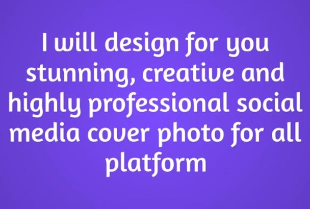 design a stunning facebook,Twitter, Youtube  cover
