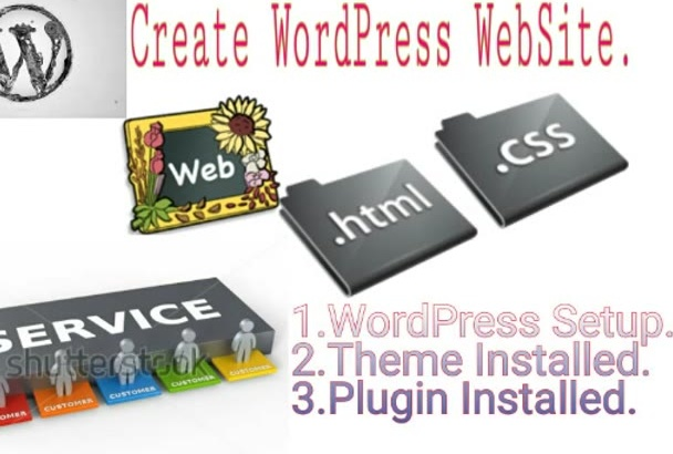 create WordPress Blog,News,Magazine WebSite or Fix