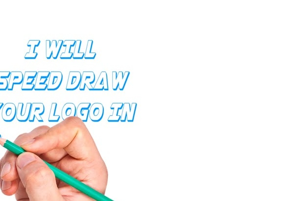 speed draw your Logo in animated style