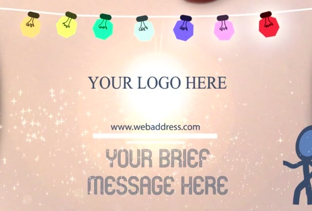 make Best And Creative Christmas Greeting Video