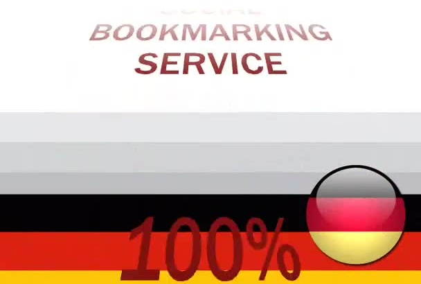 submit more than 30 German high pr social bookmarks for your website in 24 hours