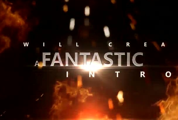 make an EFFECTIVE fire video with your text and logo