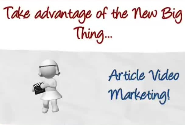 convert your article text to a stunning video