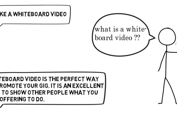 make amazing whiteboard animated video for your Fiverr gig