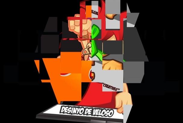 do mascot logo for you