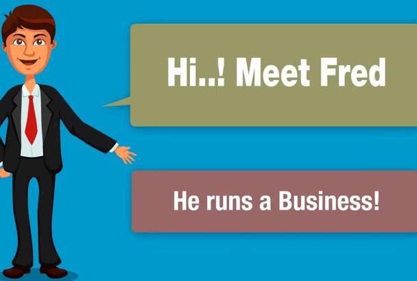 create This Businessman Explainer Video