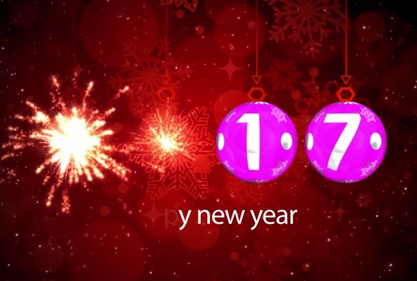 create a high QUALITY Happy New Year Video