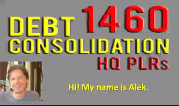 send you 1460 hq plr articles on Debt Consolidation