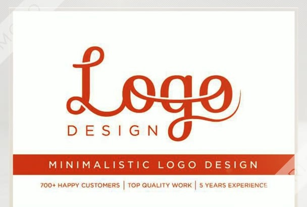 design a MINIMALISTIC Logo for your Business