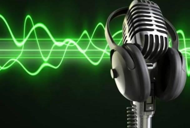 grabar la voz que necesitas en español