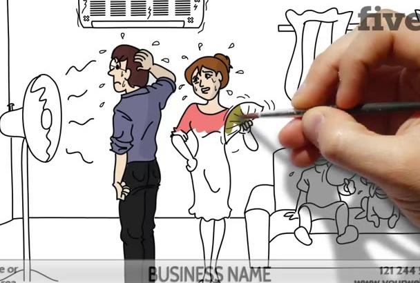create this Effective HVAC Whiteboard Video 2