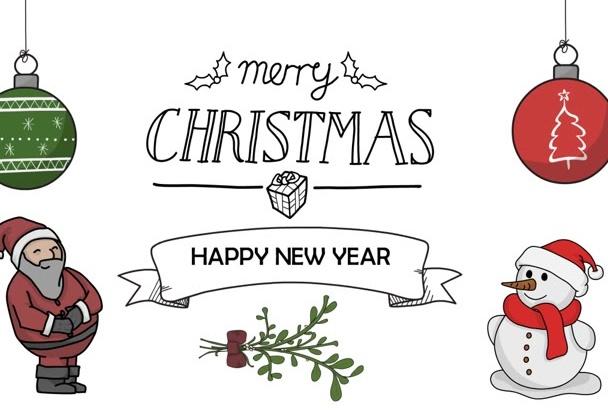 create a CHRISTMAS whiteboard animation