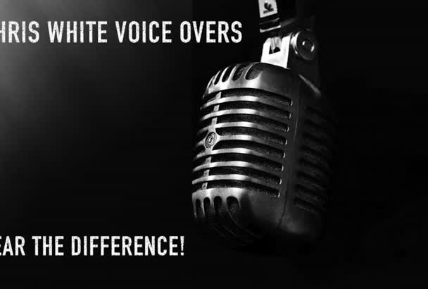 give you a professional voice over quickly