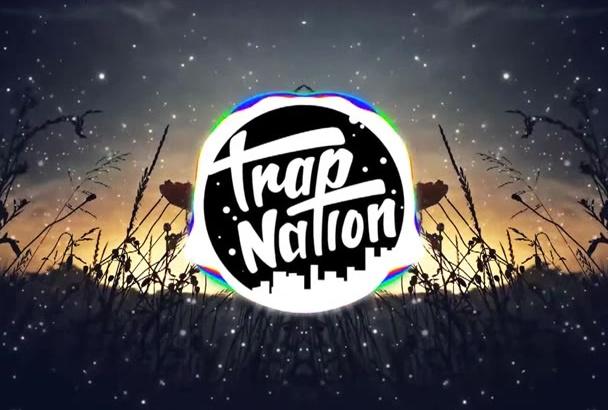 trap nation audio visualisation