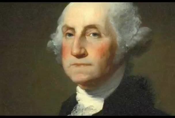 voice your radio spot or TV ad as George Washington
