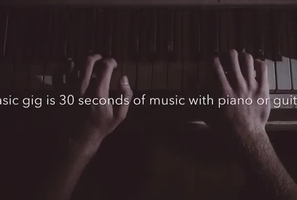 write and record any instrumental music you need